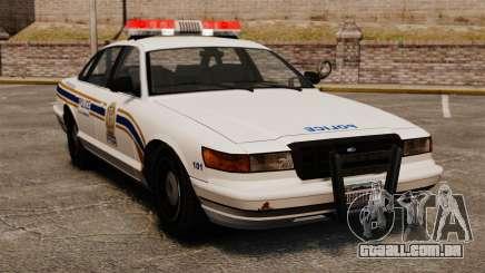 Polícia em Sherbrooke para GTA 4