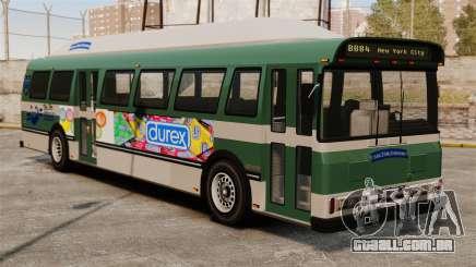 O novo anúncio no ônibus para GTA 4