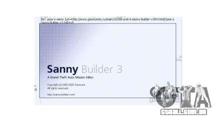 Sanny Builder v3.04 para GTA San Andreas