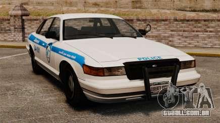 Montreal Polícia v1 para GTA 4