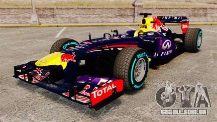 Carro, Red Bull RB9 v1 para GTA 4