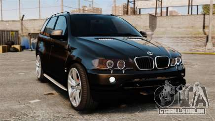 BMW X5 4.8iS v1 para GTA 4