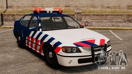 A polícia militar holandês para GTA 4