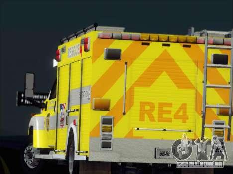 GMC C4500 Topkick BCFD Rescue 4 para as rodas de GTA San Andreas