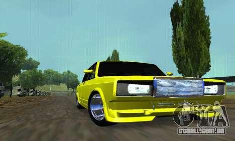 VAZ 2107 VIP para vista lateral GTA San Andreas