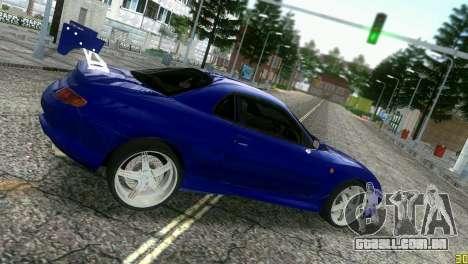 Mitsubishi FTO para GTA Vice City vista traseira