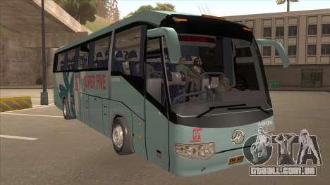 Higer KLQ6129QE - Super Fice Transport S 020 para GTA San Andreas esquerda vista