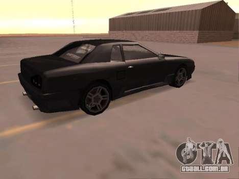 Elegy Skyline para GTA San Andreas esquerda vista