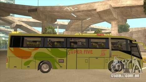 Higer KLQ6129QE - Super Five Transport S 023 para GTA San Andreas traseira esquerda vista
