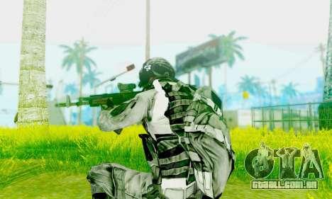 AK-12 do campo de batalha 4 para GTA San Andreas segunda tela