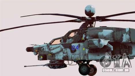 Mi-28N Havoc para GTA San Andreas esquerda vista