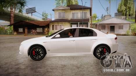 Alfa Romeo 159 para GTA San Andreas esquerda vista