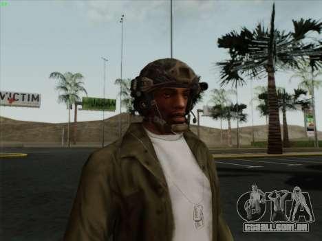 Capacete de Call of Duty MW3 para GTA San Andreas segunda tela