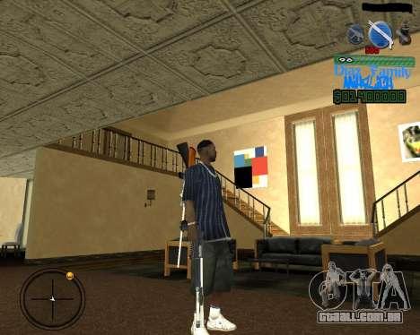 C-Hud for SA:MP para GTA San Andreas segunda tela