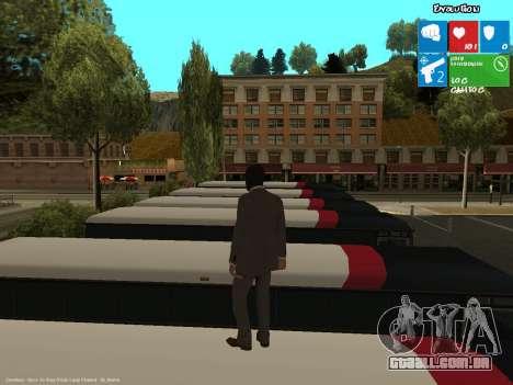 O ladrão de banco para GTA San Andreas segunda tela