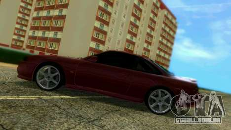 Nissan Silvia S14 Light Tuning para GTA Vice City vista interior