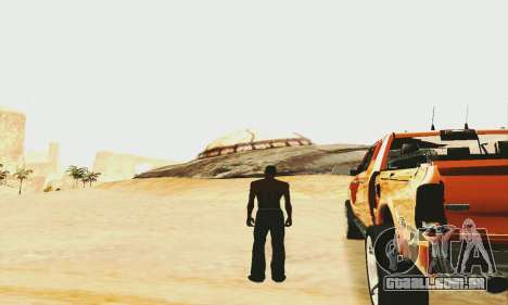 UFO Crash Site para GTA San Andreas