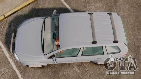 Volkswagen Touareg 2002 para GTA 4 vista direita