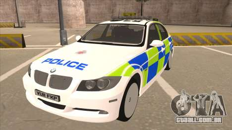 European Emergency BMW 330 para GTA San Andreas