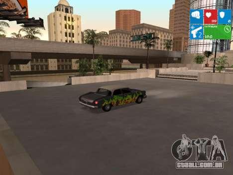 Graffity Glendale para GTA San Andreas traseira esquerda vista