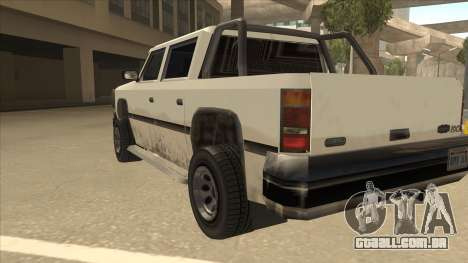 Declasse Rancher FXT para GTA San Andreas vista traseira