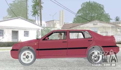 Volkswagen Vento para GTA San Andreas esquerda vista