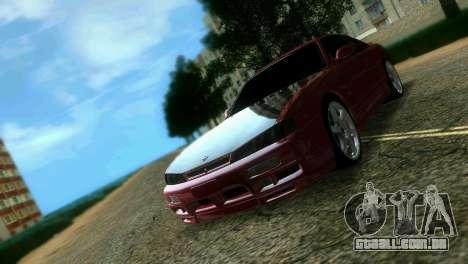 Nissan Silvia S14 Light Tuning para GTA Vice City vista traseira
