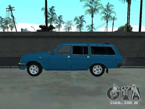 310221 GÁS para GTA San Andreas traseira esquerda vista