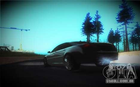 Audi A8L D3 para GTA San Andreas vista inferior