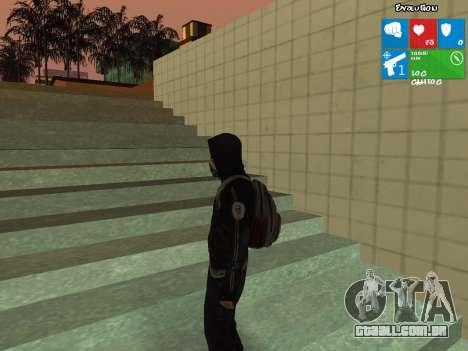 O limpador de Dead Rising 2 para GTA San Andreas segunda tela