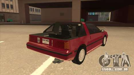 Nissan EXA L.A. Version para GTA San Andreas vista direita