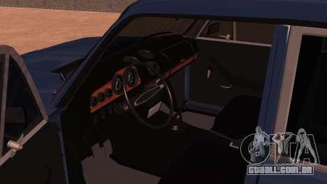 2106 Vaz para GTA San Andreas vista traseira