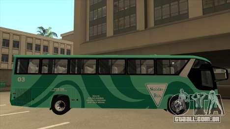 Holiday Bus 03 para GTA San Andreas traseira esquerda vista