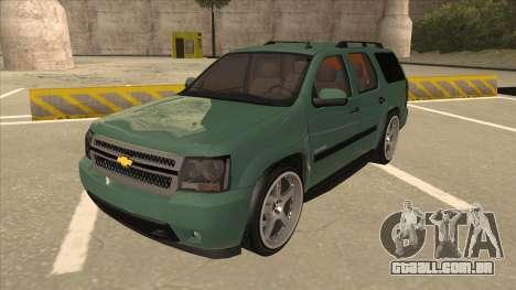 Chevrolet Tahoe Sound Car The Adiccion para GTA San Andreas