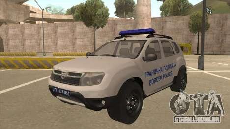 Dacia Duster Granična Policija foi para GTA San Andreas