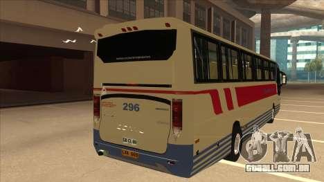 Davao Metro Shuttle 296 para GTA San Andreas vista direita