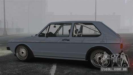 Volkswagen Golf MK1 GTI Update v1 para GTA 4 esquerda vista