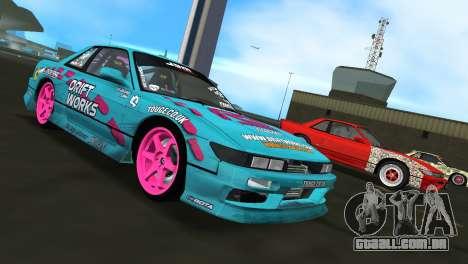 Nissan Silvia S13 Drift Works para GTA Vice City