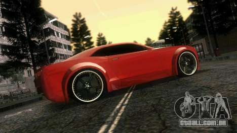 Chevrolet Camaro JR Tuning para GTA Vice City vista superior
