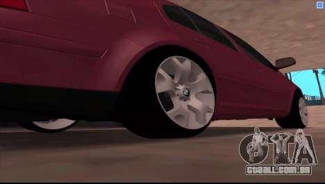 Volkswagen Bora V6 Stance para GTA San Andreas vista direita