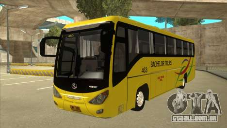 Kinglong XMQ6126Y - Bachelor Tours 463 para GTA San Andreas