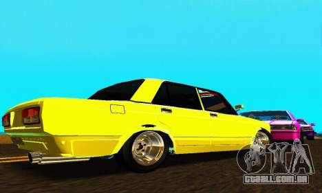 VAZ 2107 VIP para GTA San Andreas vista direita