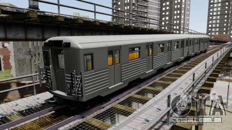 Novos vagões ferroviários para GTA 4
