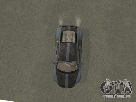 Audi R8 para GTA San Andreas vista interior