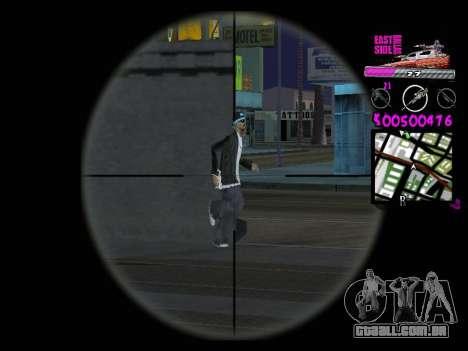 C-HUD by Kerro Diaz [ Ballas ] para GTA San Andreas por diante tela