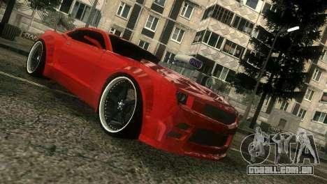 Chevrolet Camaro JR Tuning para GTA Vice City deixou vista
