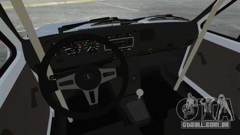 Volkswagen Golf MK1 GTI Update v1 para GTA 4 vista interior