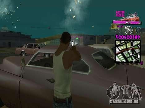 C-HUD by Kerro Diaz [ Ballas ] para GTA San Andreas terceira tela