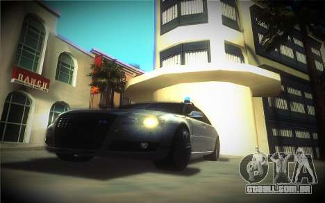 Audi A8L D3 para GTA San Andreas vista traseira