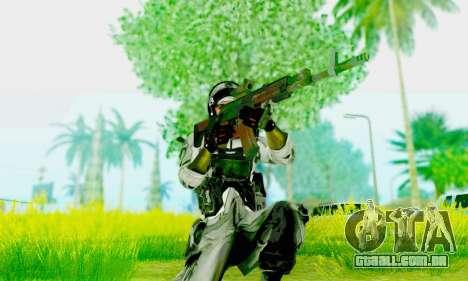 AK-12 do campo de batalha 4 para GTA San Andreas terceira tela
